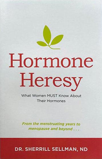 HOrmone Heresy Book Sherrill Sellman